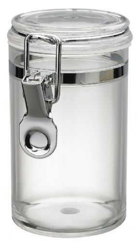 10 OZ Clip Jar, MS, Foodsafe